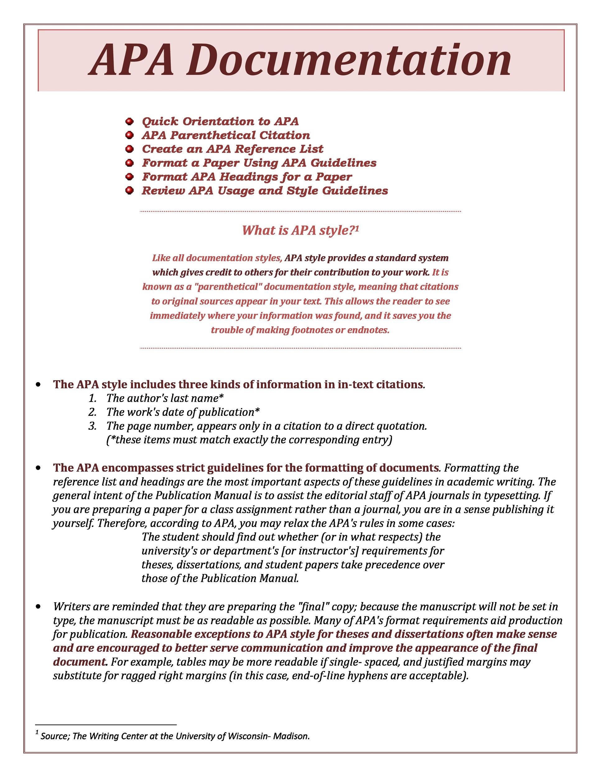 what is apa referencing style pdf