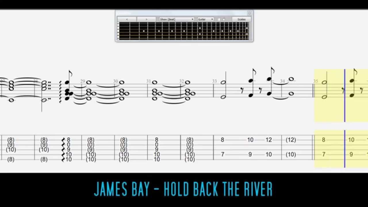hold back the river tab pdf