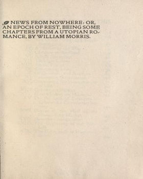 news from nowhere william morris pdf