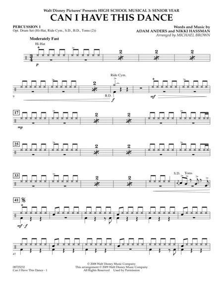 can i have this dance sheet music pdf