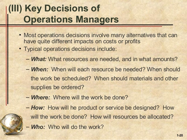 introduction to operations management pdf