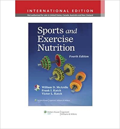 sports and exercise nutrition pdf