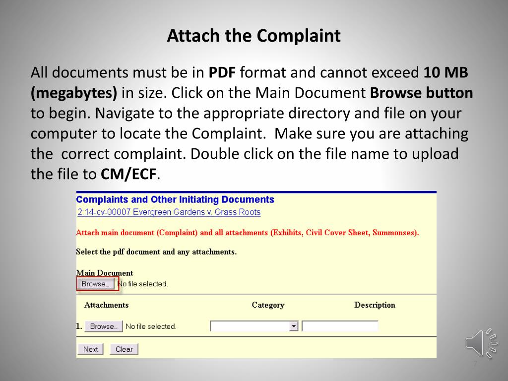cannot attach pdf file to powerpoint