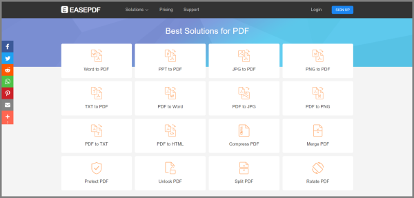pdf all in one converter online