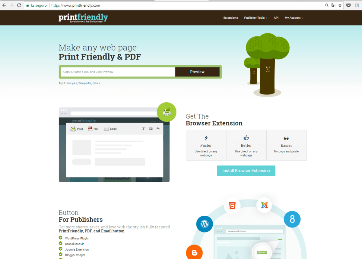 print friendly & pdf for firefox